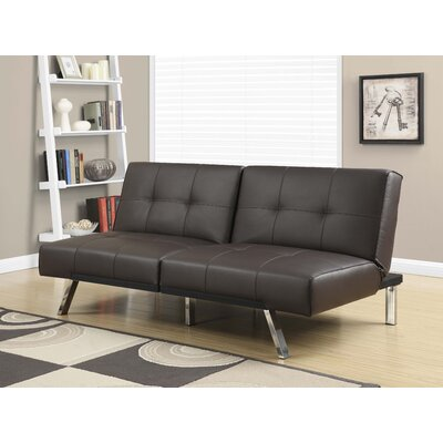 Convertible Sofa Upholstery: Brown