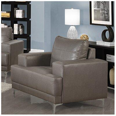 Armchair Fabric: Charcoal Grey