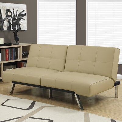 Convertible Sofa Upholstery: Taupe