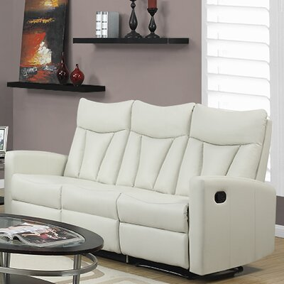 I 87IV-3 MNQ2681 Monarch Specialties Inc. Reclining Sofa