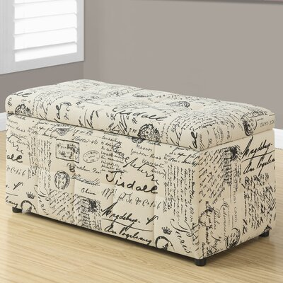 Vintage French Storage Ottoman