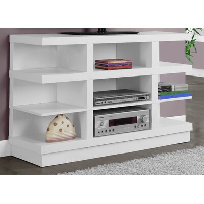 47 TV Stand Color: White