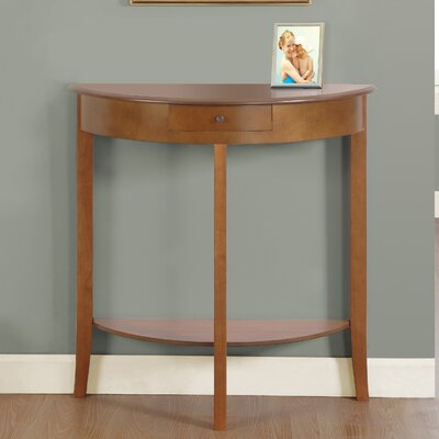 Console Table Finish: Oak