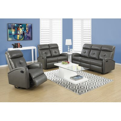 I 88GY-3 Monarch Specialties Inc. Living Room Sets