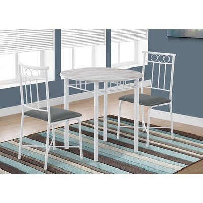 Ballweg 3 Piece Dining Set