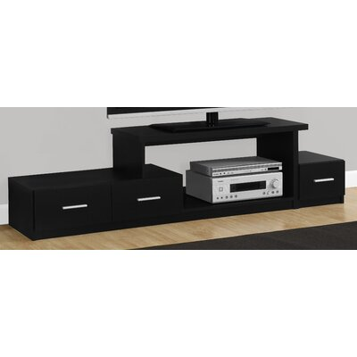 71 TV Stand Color: Black