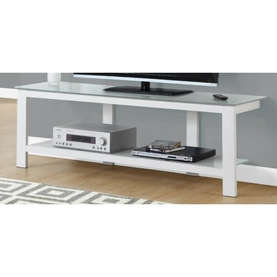TV Stand Finish: White