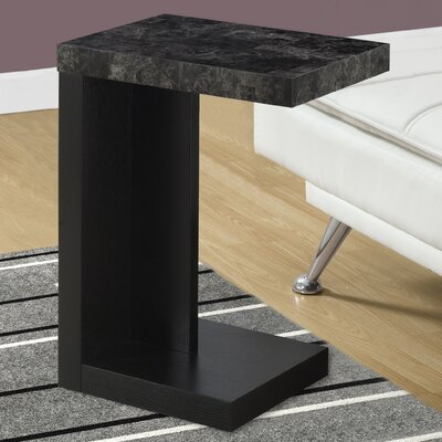 End Table Finish: Black / Grey