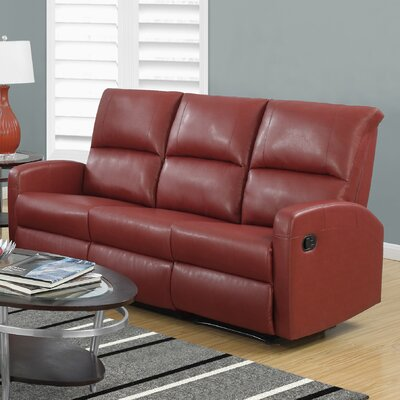 Monarch Specialties Inc. I 84RD-3 Reclining Sofa
