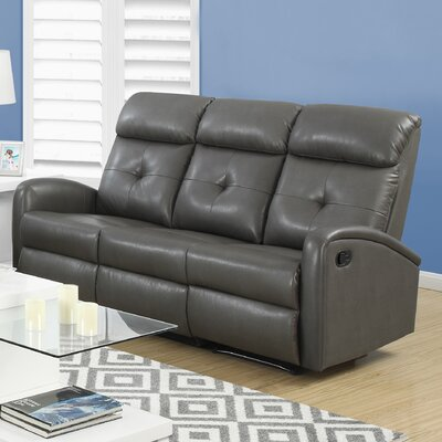I 88GY-3 MNQ2790 Monarch Specialties Inc. Reclining Sofa