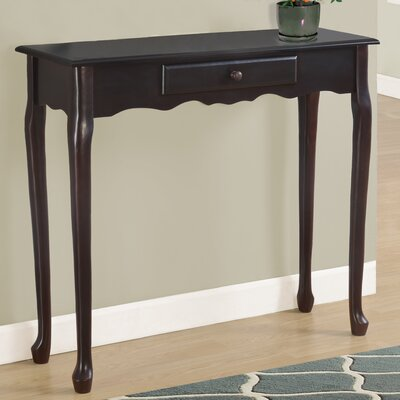 Console Table Finish: Dark Cherry