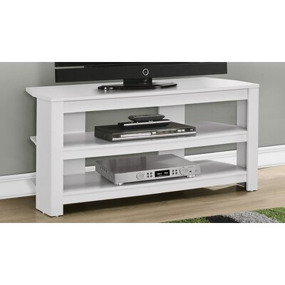 42 TV Stand Color: White
