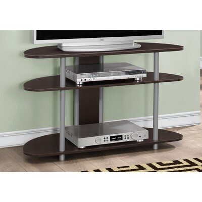 38.5 TV Stand Color: Cappuccino
