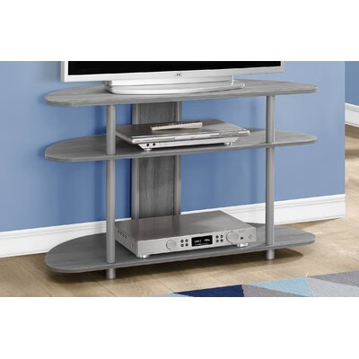 38.5 TV Stand Color: Grey