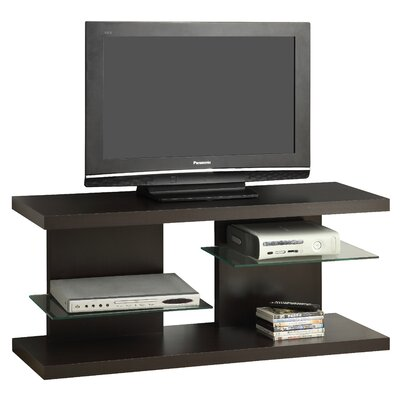Contemporary 48 TV Stand Color: Cappuccino
