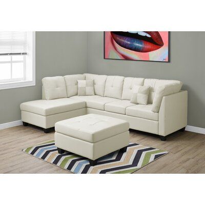 Sectional Upholstery: Ivory
