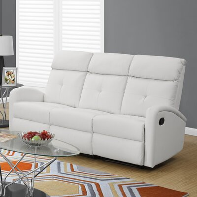 I 88WH-3 Monarch Specialties Inc. White Sofas