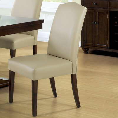 Parsons Chair Upholstery: Bond Leather - Tan