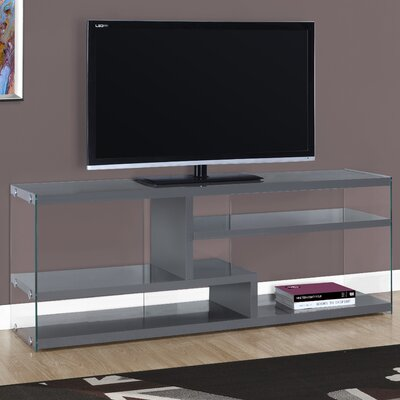 60 TV Stand Color: Gloss Gray