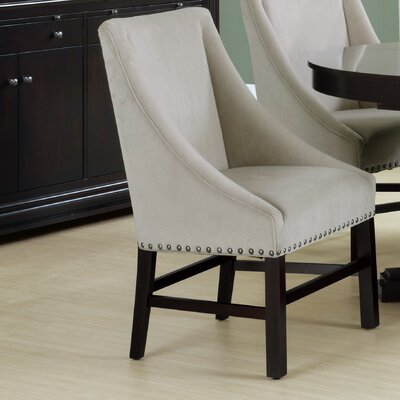 Arm Chair Upholstery: Velvet - Taupe