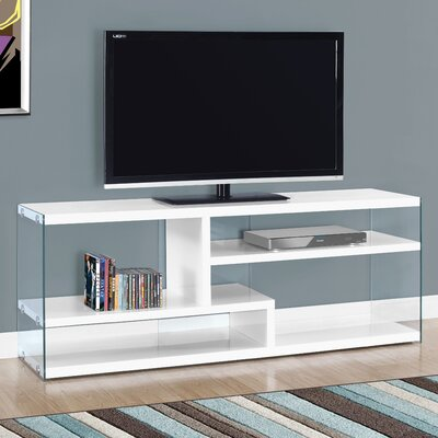 60 TV Stand Color: Gloss White