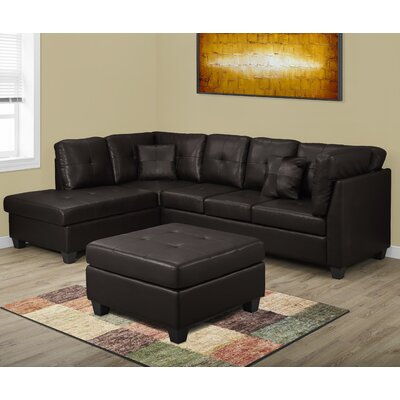 Monarch Specialties Inc. I 8375BR Sofa Sectional