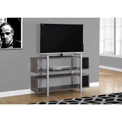 48 TV Stand Color: Gray