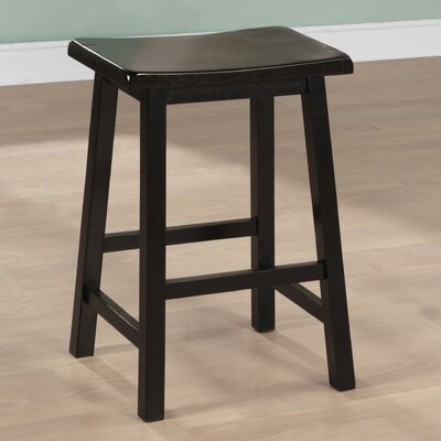 24 inch Bar Stool Finish: Black
