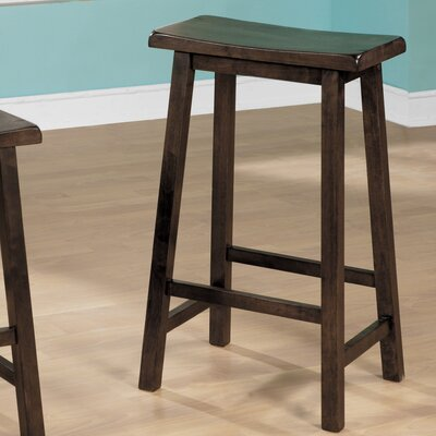 29 inch Bar Stool Finish: Walnut