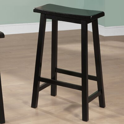 29 Bar Stool Finish: Black