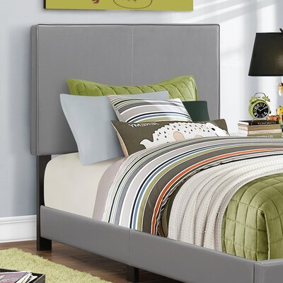 Twin Panel Bed Finish: Grey