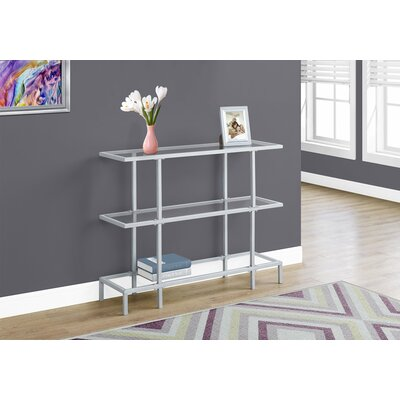 Tempered Glass Hall Console Table