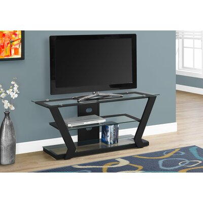 TV Stand Finish: Black