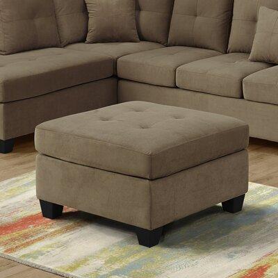 Ottoman Upholstery: Light Brown