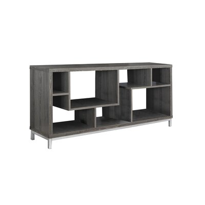 Contemporary TV Stand Finish: Taupe
