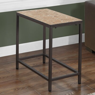 End Table Color: Terracotta / Brown