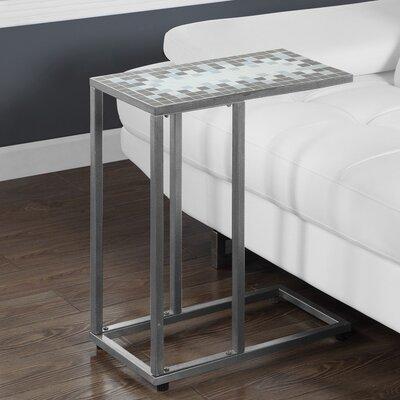 End Table Color: Grey / Silver