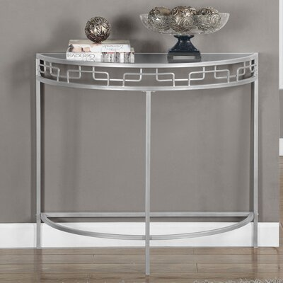 Hall Console Table Finish: Silver