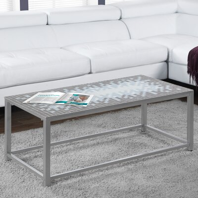 Coffee Table Color: Grey / Silver