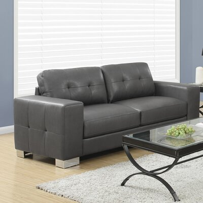 Sofa Upholstery: Charcoal Grey