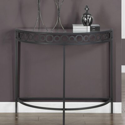 Hall Console Table Finish: Charcoal