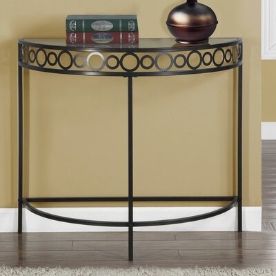 Hall Console Table Finish: Chocolate