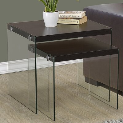 Two Piece Nesting Table Set