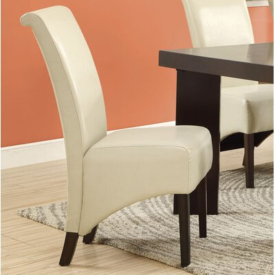 Upholstered Dining Chair Upholstery: Taupe