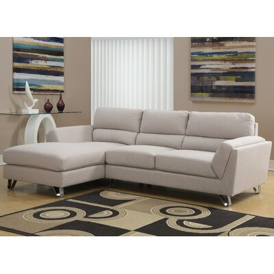Sectional Upholstery: Sand