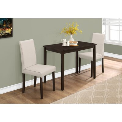 Dashiell 3 Piece Dining Set