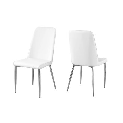 Cordie Upholstered Dining Chair Upholstery Color: White