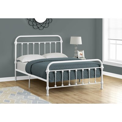 Laplante Slat Bed Size: Full, Color: White
