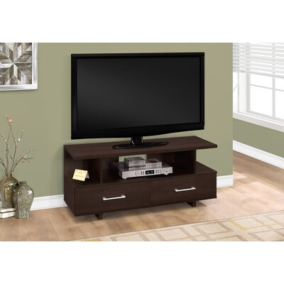 Liverpool 48 TV Stand Color: Cappuccino