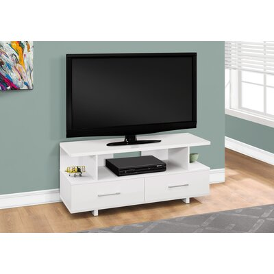 Liverpool 48 TV Stand Color: White
